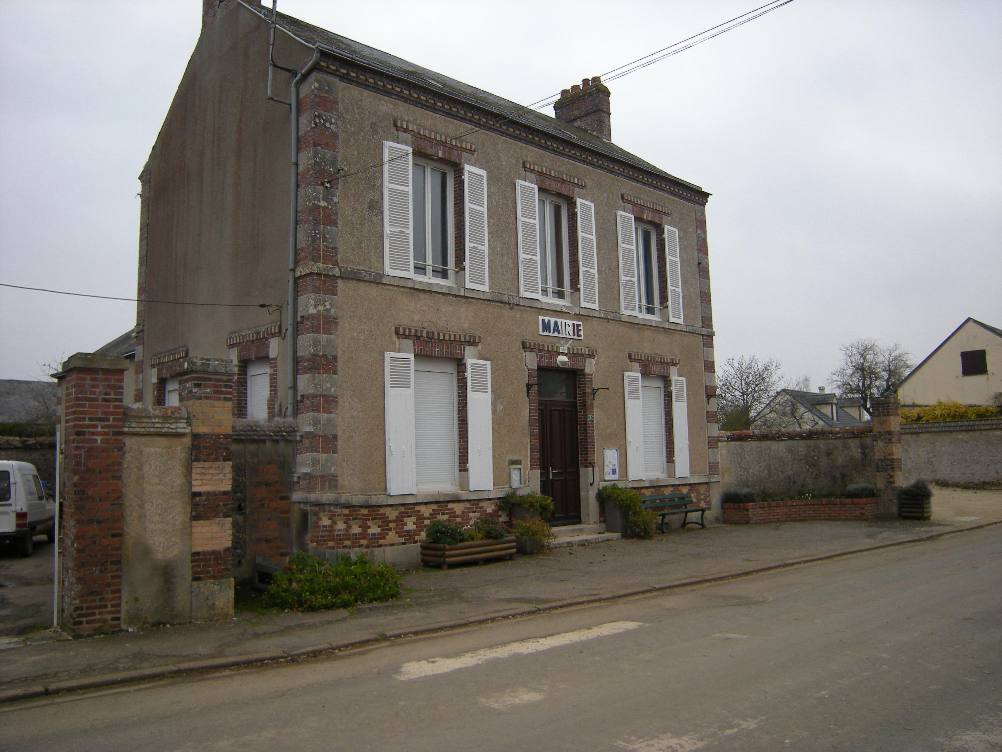 La commune historique de Germignonville